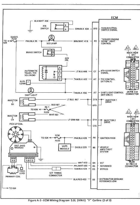 Gm Tbi Efi Wiring Diagram - Service Repair Manual Aldl Wiring Schematic on